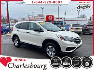 Used 2016 Honda CR-V LX 2RM **AUCUN ACCIDENT** for sale in Charlesbourg, QC