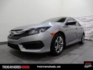 Used 2017 Honda Civic LX + BAS KILO + BLUETOOTH + CAMERA ! for sale in Trois-Rivières, QC