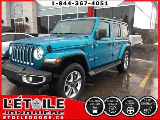Used 2019 Jeep Wrangler Unlimited Sahara 4X4 for sale in Jonquière, QC