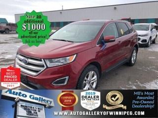 Used 2015 Ford Edge SEL* AWD/Navigation/Sunroof/REMOTE STARTER for sale in Winnipeg, MB