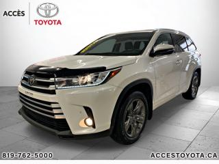Used 2017 Toyota Highlander AWD limited for sale in Rouyn-Noranda, QC