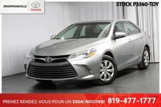 Used 2017 Toyota Camry LE| SAFETY SENSE| PEA for sale in Drummondville, QC