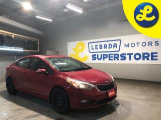 Used 2015 Kia Forte EX * Sunroof * Heated Cloth Seats * Cruise Control * Steering Wheel Controls * Hands Free Calling *  Automatic Drivers Window * AM/FM/USB/Aux/SiriusXM for sale in Cambridge, ON