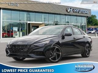 New 2021 Hyundai Elantra 1.6T N-Line Auto for sale in Port Hope, ON