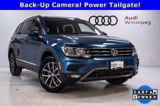Used 2020 Volkswagen Tiguan Comfortline w/Leather & Sunroof *Low KM* for sale in Winnipeg, MB