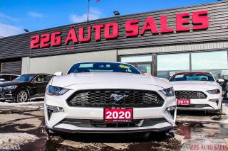 Used 2020 Ford Mustang EcoBoost Premium|ACCIDENT FREE|BACKUP CAM|LEATHER| for sale in Brampton, ON