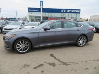 Used 2015 Hyundai Genesis Sedan LUX/AWD/NAV/LEATHER/PANO/ for sale in Edmonton, AB