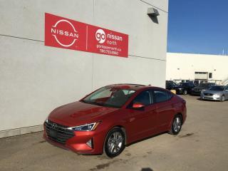 Used 2019 Hyundai Elantra Preferred / Sun & Safety Package / Parking Camera / Heated Wheel for sale in Edmonton, AB