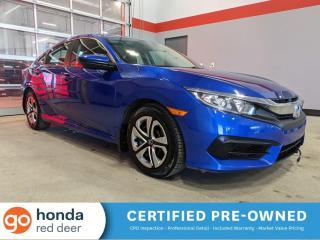 Used 2018 Honda Civic SEDAN LX for sale in Red Deer, AB