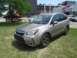 Used 2015 Subaru Forester XT Touring ~ EYESIGHT ~ PANO ROOF ~ NAV ~ LEATHER for sale in Toronto, ON