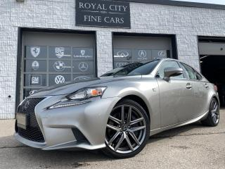 Used 2016 Lexus IS 300 F-SPORT SERIES 3 AWD// ONE OWNER// CLEAN CARFAX// for sale in Guelph, ON