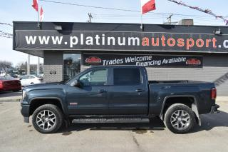 Used 2017 GMC Sierra 1500 SLT NO ACCIDENTS!! HITCH INSTALLED!! SPRAY IN BOX LINER!! SUNROOF!! HEATED SEATS!! for sale in Saskatoon, SK