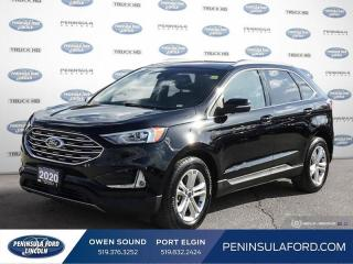 Used 2020 Ford Edge SEL - Heated Seats -  Android Auto - $206 B/W for sale in Port Elgin, ON