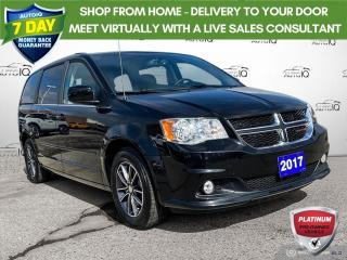 Used 2017 Dodge Grand Caravan CVP/SXT Leather/Navi/Power Doors and Tailgate for sale in St Thomas, ON