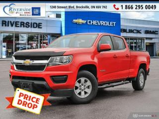 Used 2017 Chevrolet Colorado WT for sale in Brockville, ON