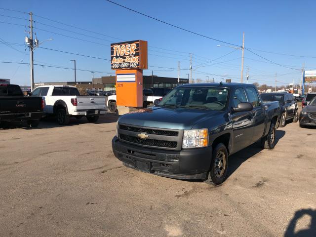 2010 Chevrolet Silverado 1500 WT**CREW CAB**V8*RUN&DRIVES GREAT*AS IS SPECIAL