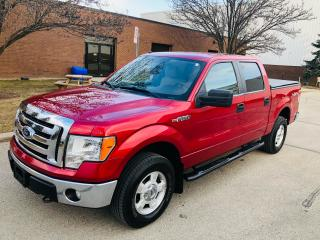 2010 Ford F-150 XLT CREW CAB 4WD  AN ABSOLUTE PEN  !