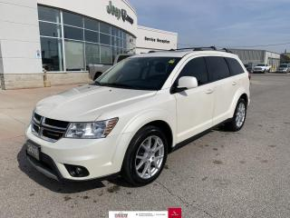 Used 2015 Dodge Journey SXT 7 Pass/DVD/Nav/Heated Seats for sale in Chatham, ON