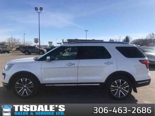 2019 Ford Explorer Platinum  - Sunroof -  Navigation