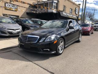 Used 2011 Mercedes-Benz E-Class 4DR SDN E 350 4MATIC for sale in Scarborough, ON