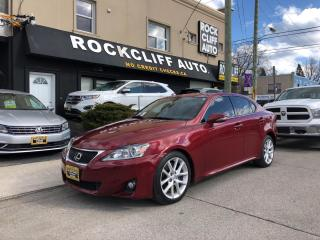 Used 2012 Lexus IS 350 4DR SDN AWD for sale in Scarborough, ON