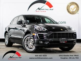Used 2017 Porsche Macan Navigation/Pano Roof/Blindspot/Red Leather for sale in Vaughan, ON