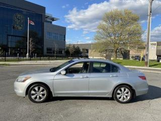 Used 2009 Honda Accord EX-L, Navi, Leather, Sunroof, Auto, Warranty Avail for sale in Toronto, ON