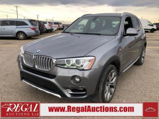 Used 2016 BMW X3 XDRIVE28I 4D Utility AWD 2.0L for sale in Calgary, AB