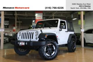 Used 2016 Jeep Wrangler SPORT 4WD AUTO w/ SOFT TOP for sale in North York, ON