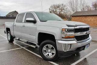 Used 2017 Chevrolet Silverado 1500 1LT 4x4 Bluetooth/CarPlay OnStar Backup Cam Six Seats for sale in Belle River, ON