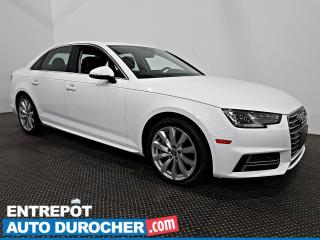 Used 2018 Audi A4 Sedan Komfort - AWD - Toit Ouvrant - Caméra de Recul for sale in Laval, QC