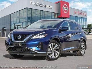 New 2021 Nissan Murano SL AWD for sale in Medicine Hat, AB