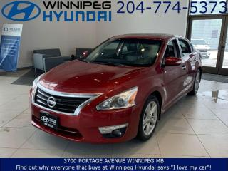 Used 2015 Nissan Altima 2.5 SL for sale in Winnipeg, MB