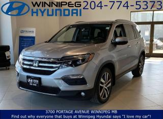 Used 2017 Honda Pilot Touring for sale in Winnipeg, MB