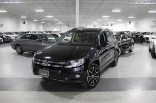Used 2014 Volkswagen Tiguan TSI 4MOTION I LEATHER I PANOROOF I HEATED SEATS I BLUETOOTH for sale in Mississauga, ON