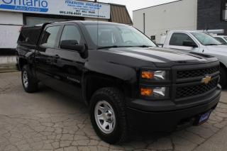 Used 2015 Chevrolet Silverado 1500 4WD Crew Cab 5.3L Bluetooth Matching cab for sale in Mississauga, ON