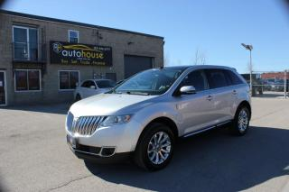 Used 2014 Lincoln MKX AWD/V6/LEATHER INTERIOR/NAVI/BACK UP CAMERA/ACCIDENT FREE for sale in Newmarket, ON