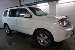 Used 2011 Honda Pilot EX-L 4WD DVD CAMERA CERTIFIED 2YR WARRANTY SUNROOF HEATED LEATHER ALLOYS for sale in Milton, ON
