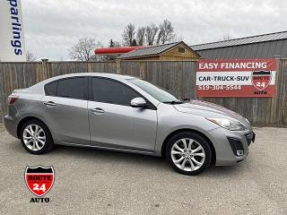 Used 2010 Mazda MAZDA3 GT Immaculate, Fuel efficient, power sunroof, inexpensive to buy for sale in Brantford, ON