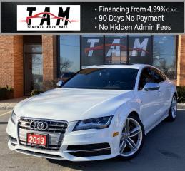 Used 2013 Audi S7 4.0 Fully Loaded NAVI HUD Display Massage Seats Blind Spot Cooled Seats PDC for sale in North York, ON