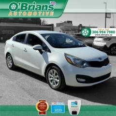 Used 2013 Kia Rio LX+ - Accident Free! w/Heated Seats, Cruise, Air Conditioning for sale in Saskatoon, SK
