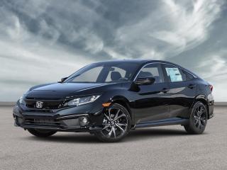 New 2021 Honda Civic Sedan Sport CVT for sale in Amherst, NS