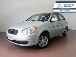 Used 2007 Hyundai Accent LOW KM | GOOD CONDITION | for sale in Brantford, ON