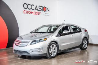 Used 2015 Chevrolet Volt CAMERA DE RECUL+SIEGES CHAUFFANTS+REG DE VITESSE for sale in Laval, QC