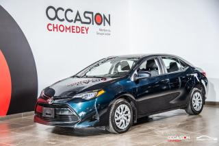 Used 2018 Toyota Corolla LE+CAMERA DE RECUL+SIEGES CHAUFFANTS+BLUETHOOTH for sale in Laval, QC