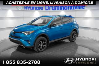 Used 2018 Toyota RAV4 HYBRID SE + GARANTIE + NAVI + TOIT + WOW for sale in Drummondville, QC