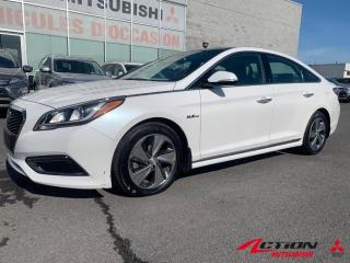 Used 2016 Hyundai Sonata Hybrid LIMITED+HYBRID+TOIT PANO+GPS+MAGS 17+CAMÉRA+BLUETO for sale in St-Hubert, QC
