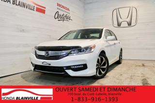 Used 2016 Honda Accord EX-L I4 4 portes CVT for sale in Blainville, QC