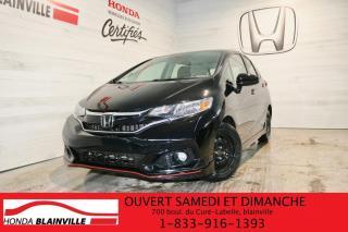 Used 2018 Honda Fit Sport CVT avec Honda Sensing for sale in Blainville, QC