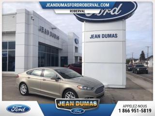 Used 2015 Ford Fusion MODÈLE SE CUIR SIÈGE ÉLECT CHAUFFANT A M for sale in Roberval, QC